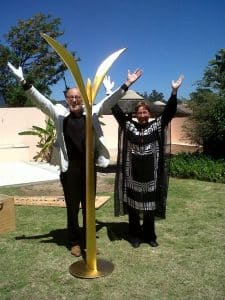 Gouden Plant, South Africa, Pearl, Unifying Field, quantum art, peace project, Seedling,
