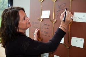Inez van Oord as founder From the groundbreaking magazine Happinez is honoured within the Manifest Femal Energy