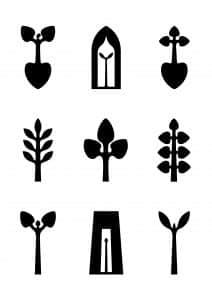 Ikoon, icoon, Kunstenaars Adelheid & Huub kortekaas, kunstproject, blauwdruk van een leven lang,