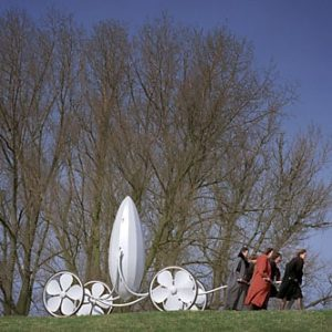 hearse, design, De Tempelhof, Flower, Plant, Artistduo Huub & Adelheid Kortekaas, art, sculpture, architecture,