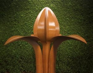 kunstenaarsduo Huub & Adelheid kortekaas, bron, Bloemen, planten, spiritualiteit,