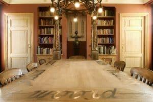 Adelheid & Huub kortekaas, De Tempelhof, bibliotheek, tafelontwerp, Tafel, Bibliotheek, woord, interieurontwerp