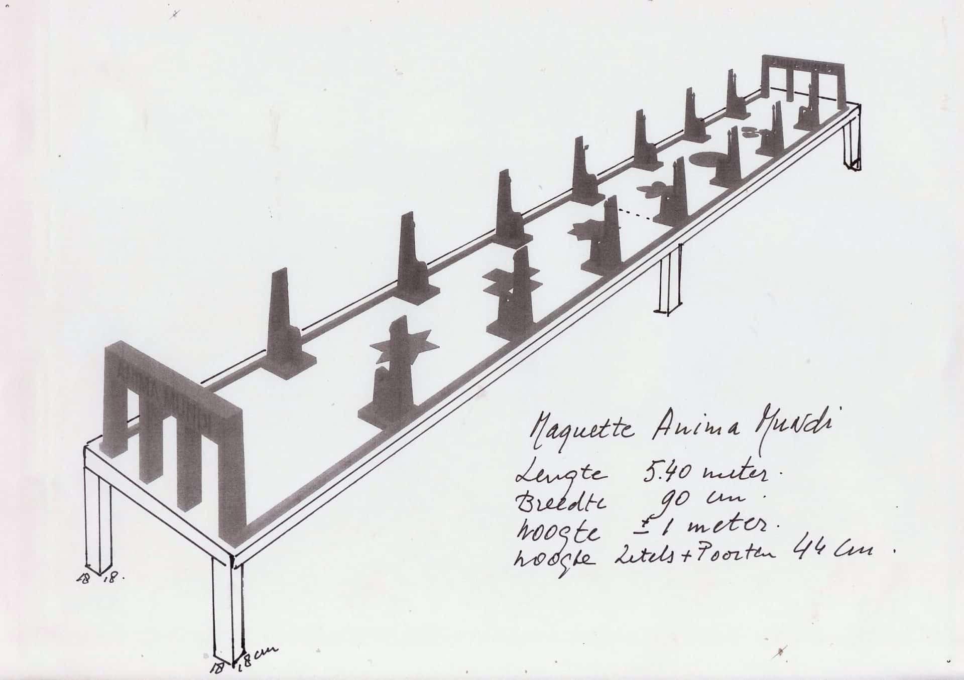 Anima Mundi, beeldend kunstenaars, architectonisch ontwerp, architectuur, tuinarchitectuur, Tempel, Totaalkunstwerk, Quantum Art, Quantum-sprong