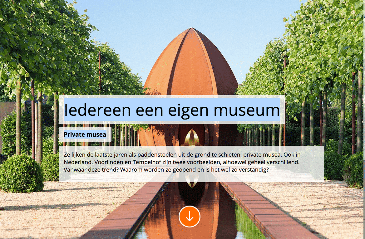 Publicatie, Rabo Wijzer, Kunstenaars Adelheid & Huub Kortekaas, De Tempelhof, Musea,